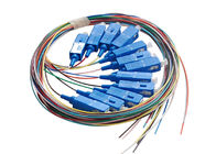 12 Colors Fiber Optical Patch Cord G652D G657A1 G657A2 1m 1.5m Pigtail