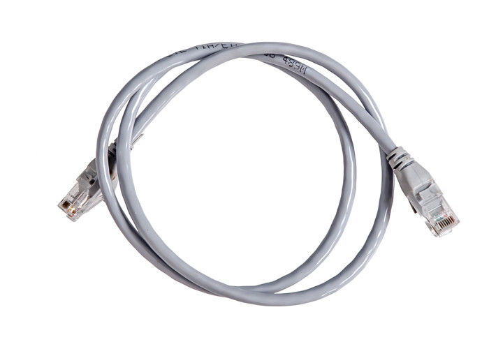 Commonly Used Copper Lan Cable Cat5e Cat 6 Security 1000N Tensile Strength